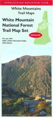 AMC White Mountains Map Set, 2nd