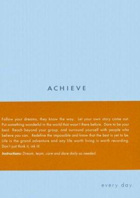 Achieve: Every Day 9781932319309