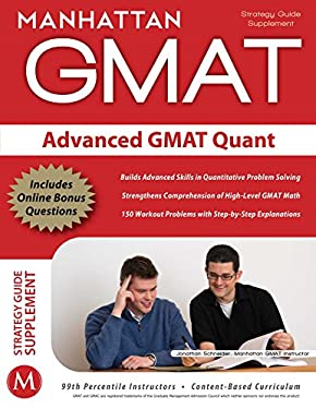 Advanced GMAT Quant Strategy Guide Supplement 9781935707158