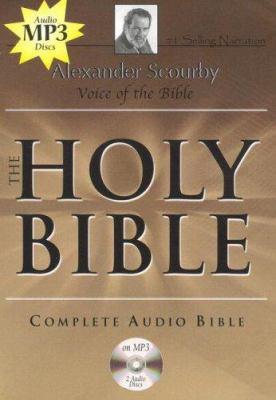 Alexander Scourby Bible-KJV 9781930034273
