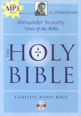 Alexander Scourby Bible-KJV 9781930034297