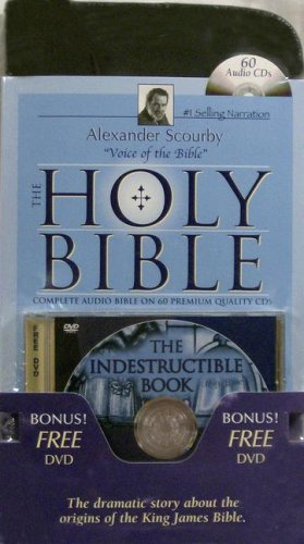 Alexander Scourby Bible-KJV [With The Indestructible Book] 9781930034655