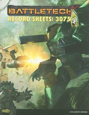 Battletech Record Sheets: 3075 9781934857526