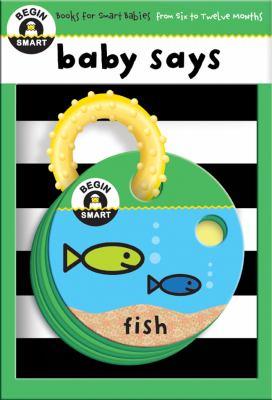 Baby Says 9781934618561