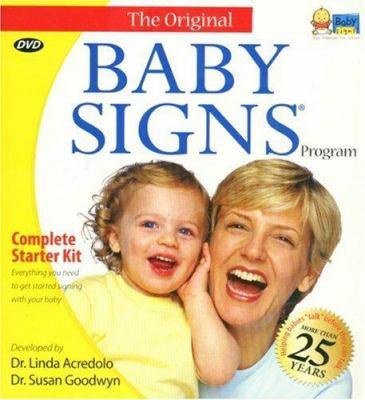 Baby Signs Starter Kit 9781933877006