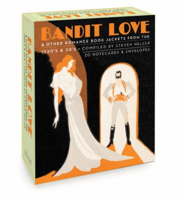 Bandit Love (Boxed Notecards): Romance Book Jackets from the 1920's and 30's 9781932411096