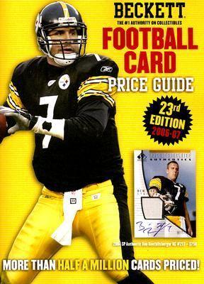 Beckett Football Card Price Guide 9781930692473