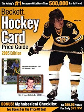 Beckett Hockey Card Price Guide & Alphabetical Checklist 9781930692367