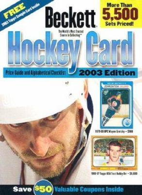Beckett Hockey Card Price Guide and Alphabetical Checklist 9781930692244