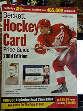 Beckett Hockey Card Price Guide and Alphabetical Checklist 9781930692305
