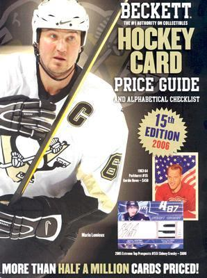 Beckett Hockey Card Price Guide and Alphabetical Checklist 9781930692428