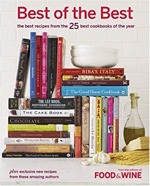 Best of the Best, Volume 10: The Best Recipes from the 25 Best Cookbooks of the Year 9781932624212