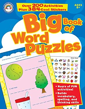 Big Book of Word Puzzles, Ages 8+ 9781936022250
