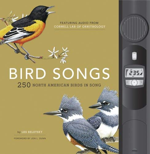Bird Songs: 250 North American Birds in Song [With Attached Audio Player W/250 Bird Sounds] 9781932855418