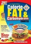 Calorie, Fat & Carbohydrate Counter 9781930448131