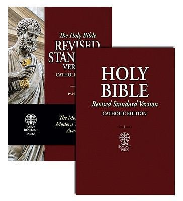 Catholic Bible-RSV 9781935302100