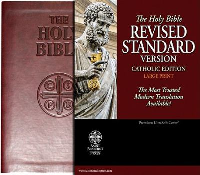Catholic Bible-RSV-Large Print 9781935302285