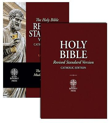 Catholic Bible-RSV-Large Print 9781935302292