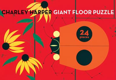 Charley Harper Ladybug Giant Floor Puzzle 9781934429532