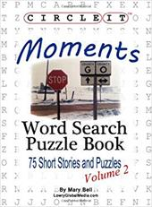 Circle It, Moments, Word Search, Puzzle Book 21377405