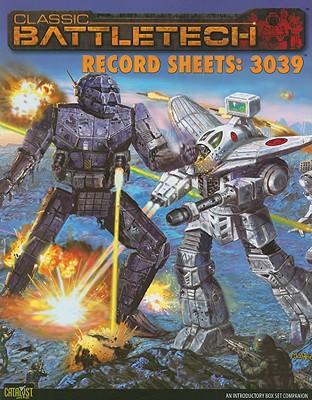 Classic Battletech Record Sheets: 3039 9781934857182