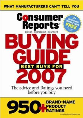 Consumer Reports Buying Guide 9781933524016