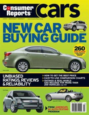 Consumer Reports New Car Buying Guide 9781933524092