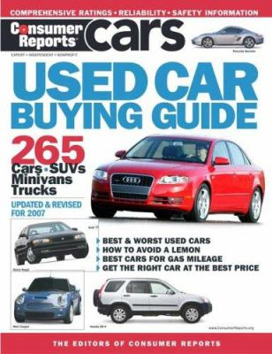 Consumer Reports Used Car Buying Guide 9781933524061