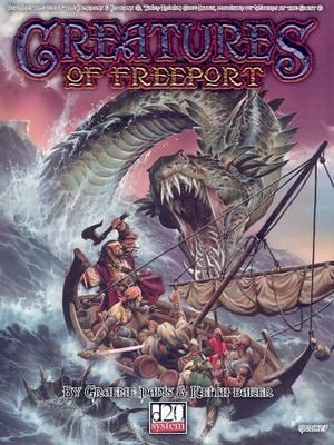 Creatures of Freeport (D20 System) 9781932442199