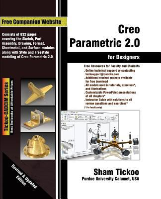Creo Parametric 2.0 for Designers 9781936646388