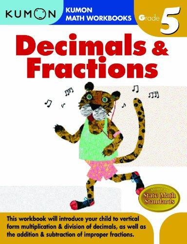 Decimals & Fractions Grade 5 9781933241593