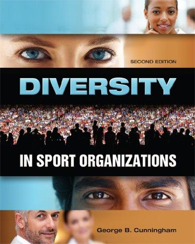 Diversity in Sport Organizations 9781934432099