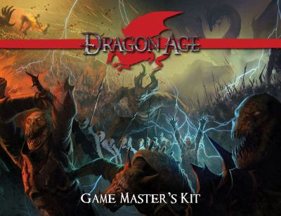 Dragon Age Game Master's Kit: An Accessory for the Dragon Age RPG [With Three-Panel Screen] 9781934547328
