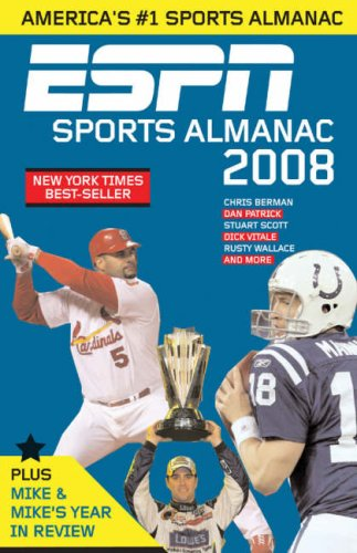 ESPN Sports Almanac 2008 9781933060385