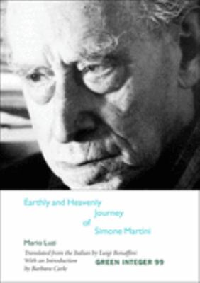 Earthly and Heavenly Journey of Simone Martini 9781931243537