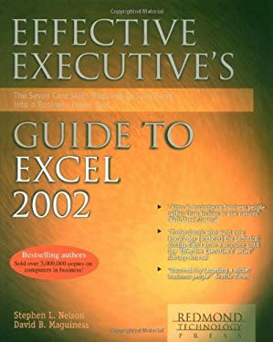 Effective Executive's Guide to Microsoft Excel 2002 9781931150088
