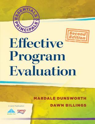 Effective Program Evaluation