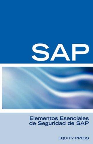 Elementos Esenciales de Seguridad de SAP 9781933804811