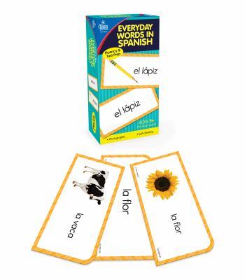 Everyday Words in Spanish: Photographic Flash Cards: Palabras de Todos Los Dias: Fotografico 9781936022830