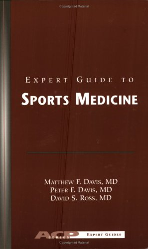Expert Guide to Sports Medicine: 9781930513648