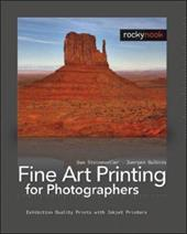 Fine Art Printing for Photographers: Exhibition Quality Prints with Inkjet Printers 7820147