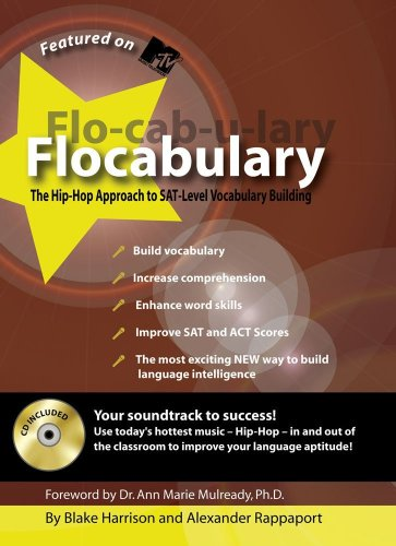 Flocabulary: The Hip-Hop Approach to SAT-Level Vocabulary Building [With CD] 9781933662145