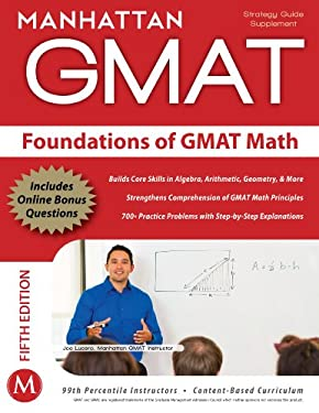 Foundations of GMAT Math 9781935707592