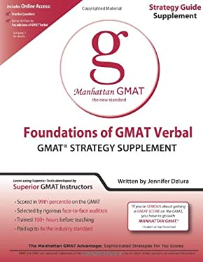 Foundations of GMAT Verbal Strategy Guide Supplement 9781935707165
