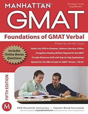 Foundations of GMAT Verbal 9781937707019