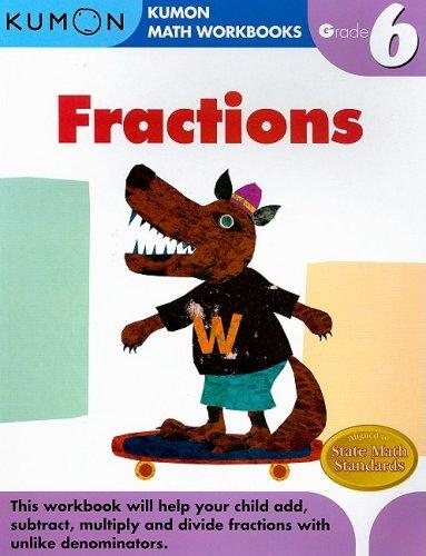 Fractions Grade 6 9781933241609