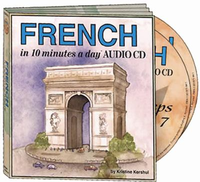 French in 10 Minutes a Day Audio CD Wallet - Library Edition 9781931873253