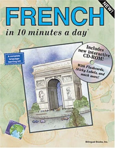 French in 10 Minutes a Day [With CDROM] 9781931873024