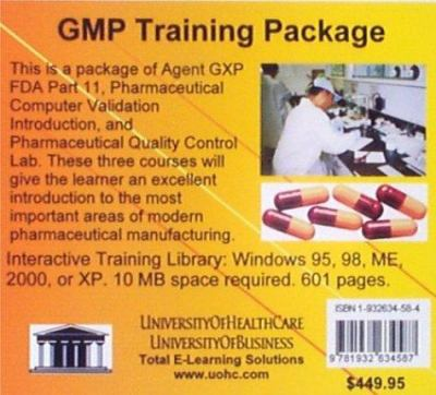 GMP Training Package 9781932634587