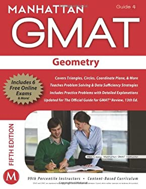 Manhattan GMAT Geometry, Guide 4 [With Web Access] 9781935707646